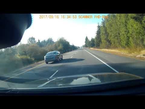 Terrible Car accident At Exit 273m Blaine WA, 16:35 Sept 16,2017
