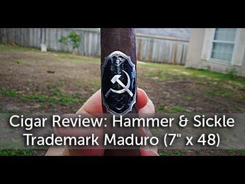 Hammer & Sickle Trademark Maduro Churchill Cigar Review