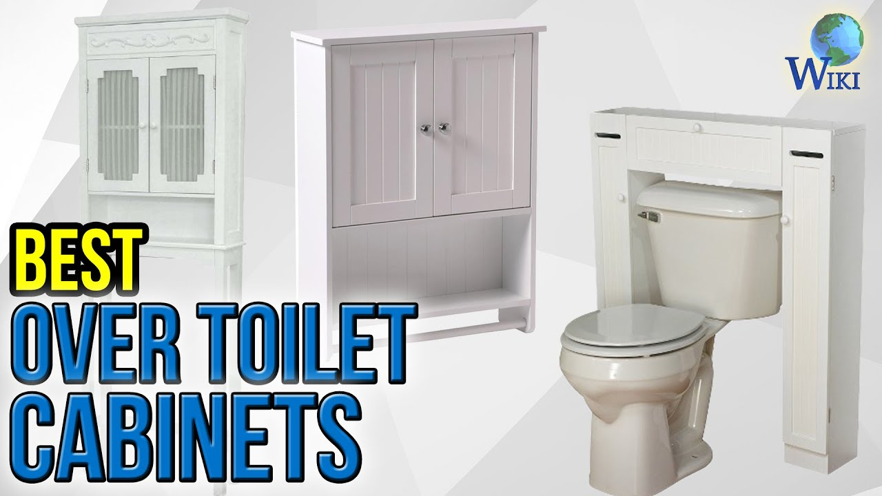 8 Best Over Toilet Cabinets 2017 - YouTube