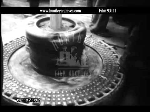 Iraq oil exploration, 1960's.  Archive film 93111