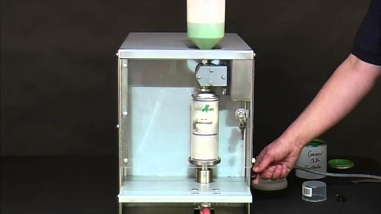 All Electric Flame Proof Aerosol Can Filling Machine Merris Youtube