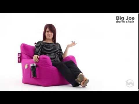 Comfort Research Big Joe Dorm Bean Bag Chair