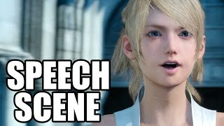 FINAL FANTASY XV - Lady Lunafreya / Luna Speech Scene