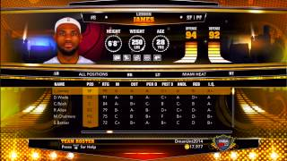 """NBA 2K13: How I Play Legend Teams With My """"MyPlayer"""" - Changing MyPlayer Jerseys"""