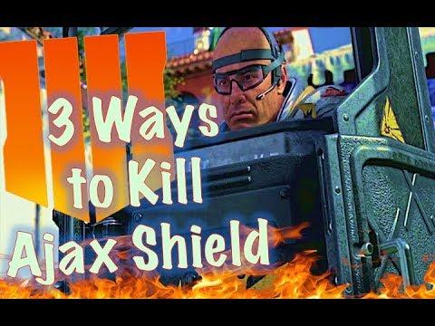 How to Kill Ajax Shield (3 Different Ways) | Black Ops 4