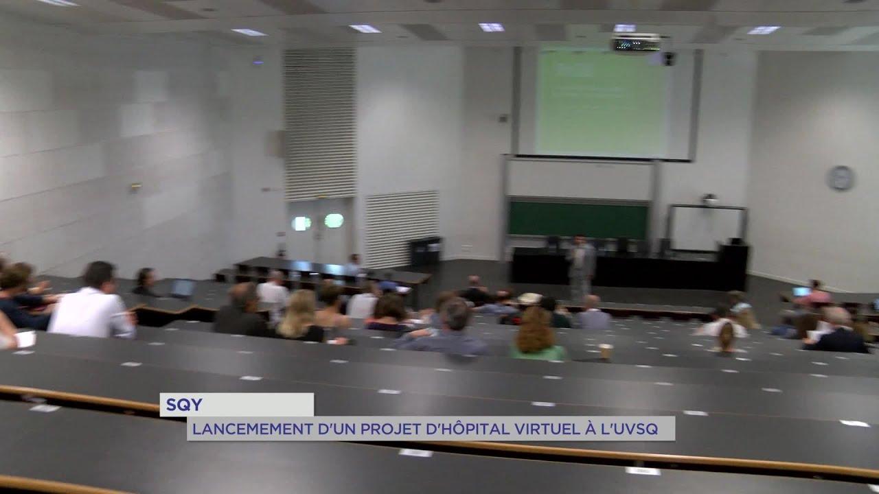 Yvelines | SQY : Lancement d'un projet d'hôpital virtuel à l'UVSQ