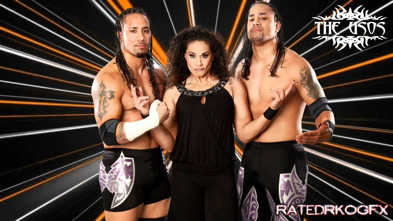 2011 the usos 4th wwe theme song so close now siva - The usos theme song so close now ...
