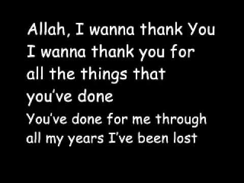 Maher Zain-Thank You Allah with Lyrics