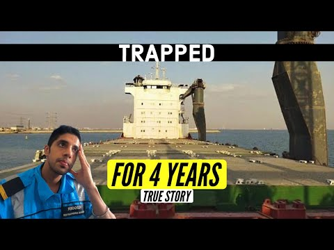 Living On An Abandoned Ship With No Food For 4 Years   SUEZ CANAL  