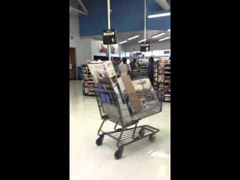 Little's Law: Walmart