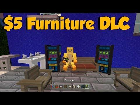 Minecraft Has $5 Furniture DLC... But Is It Worth It?