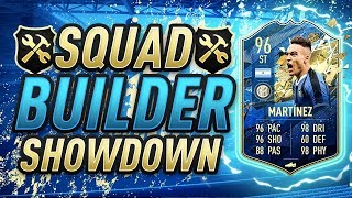 FIFA 20 SQUAD BUILDER SHOWDOWN! TOTS MARTINEZ! FIFA 20 ULTIMATE TEAM