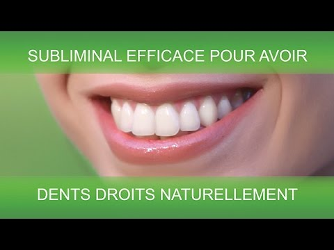 dents droits naturellement supersubliminal youtube. Black Bedroom Furniture Sets. Home Design Ideas