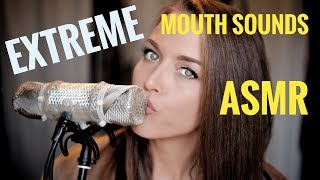 ASMR Gina Carla 👄 Ultra Extreme High Sensitive Mouth Sounds! Very Close Up Whispering! thumbnail