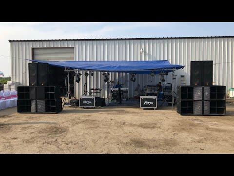JBL JRX 125 Speakers & Cerwin Vega El-36C Subs & Grupo Preferencia Musical En Madera, CA!