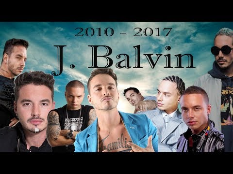 EVOLUCIÓN MUSICAL DE J. Balvin 2010 - 2017 (Vídeo/Live) - By Goch