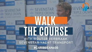 2020 RORC Caribbean 600: Wouter Verbraak walks the course.