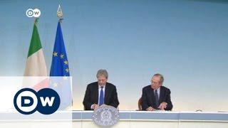 رئيس الوزراء الايطالي يعرض خطة انقاذ مالية للخروج من الأزمة | الأخبار