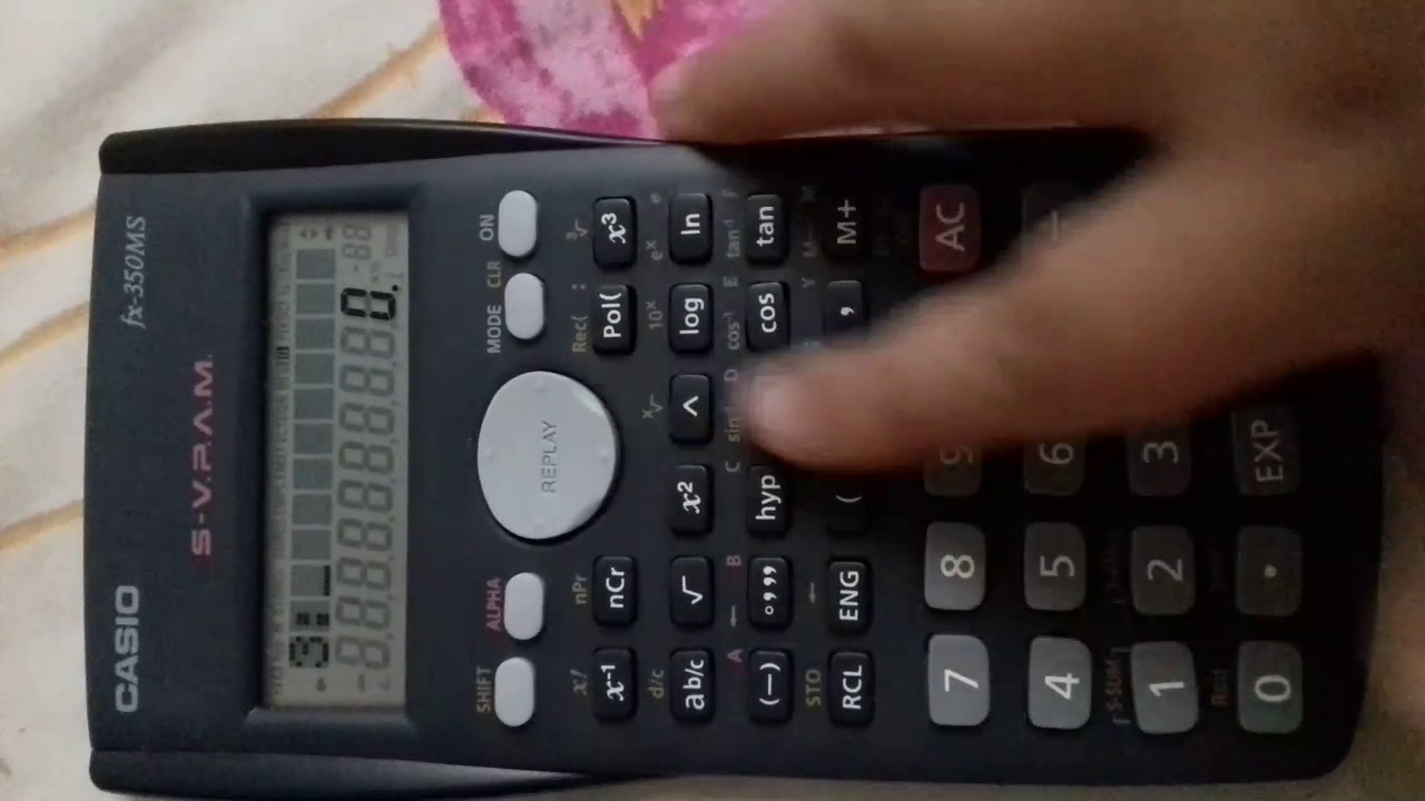Casio Calculator Tricks