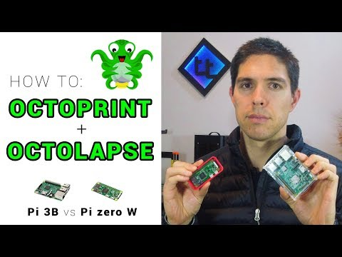 How To Setup Octoprint / Experimenting With Octolapse