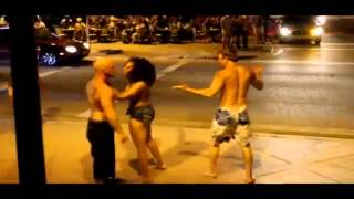 Crazy fight at club