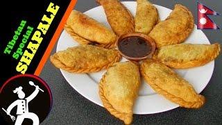 How to make ShapaleShapaleySyabhale  Tibetan Food in Nepali Language  Shapaley recipe 47