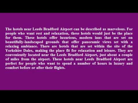 Hotels Near Leeds Bradford Airport