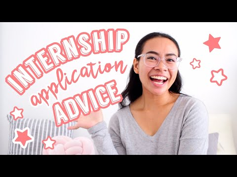 THE Internship Application Advice You NEED To Know! | SimplyMaci