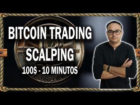 Scalping Justo En La Bajada de Bitcoin   #BITCOIN V134 - YouTube
