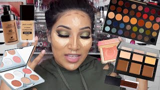 OLIVE YOU GRWM Olive Smokey Eye Makeup Eyeshadow Tutorial & How I Apply Lashes