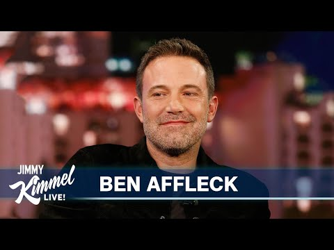 Ben Affleck's Love for Tom Brady is Getting Ridiculous