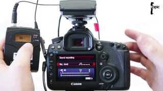How to Reduce Audio Hiss on the 5D Mk III when Recording Video