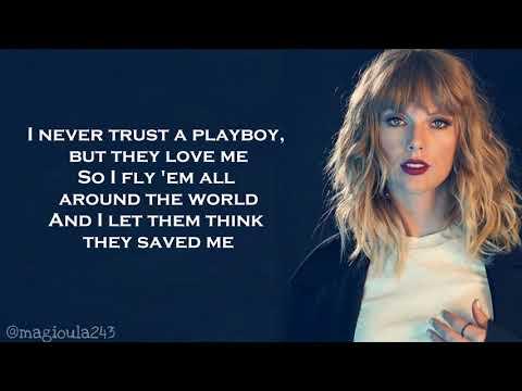 Taylor Swift - I Did Something Bad (Lyrics)