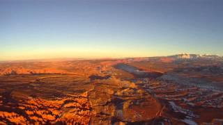 Our Trip Flying Over Utah