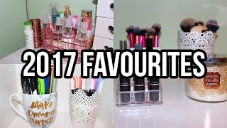 2017 FAVOURITES! BEAUTY, STATIONERY, TV & MORE| Floral Sophia