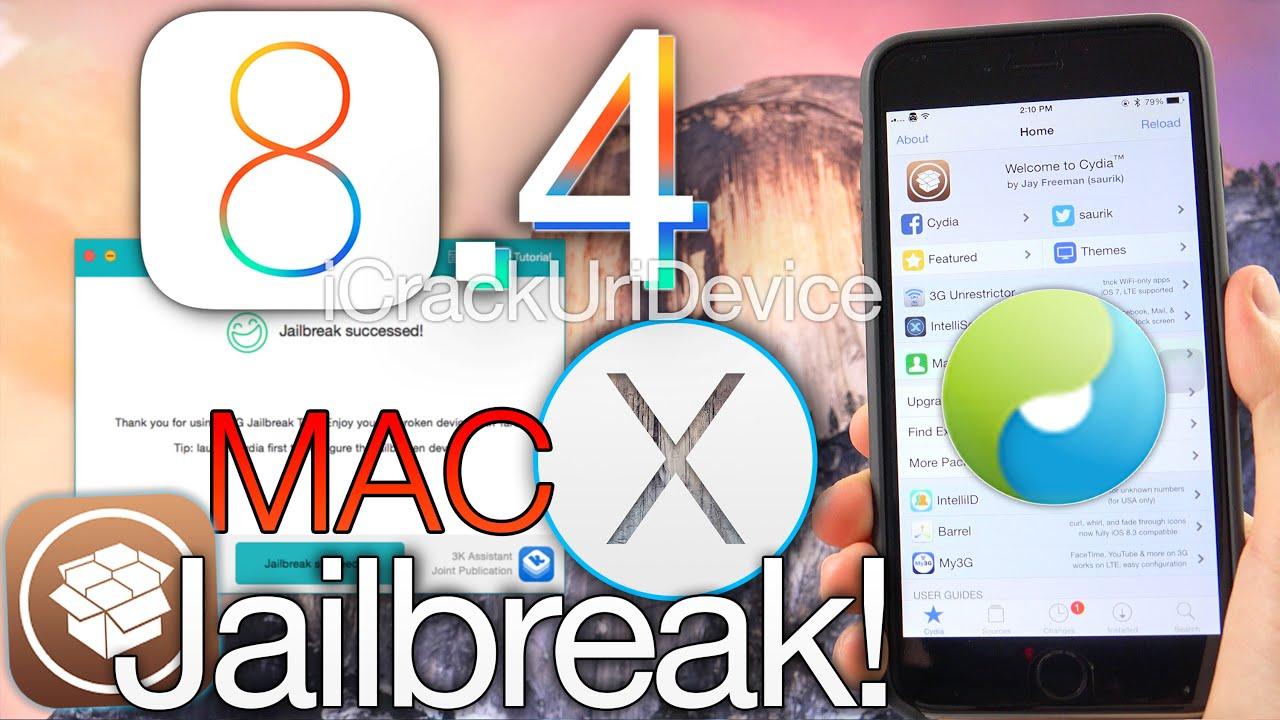 NEW Jailbreak iOS 8.4 Untethered MAC TaiG iPhone 6 Plus,6,5s,5c,4S