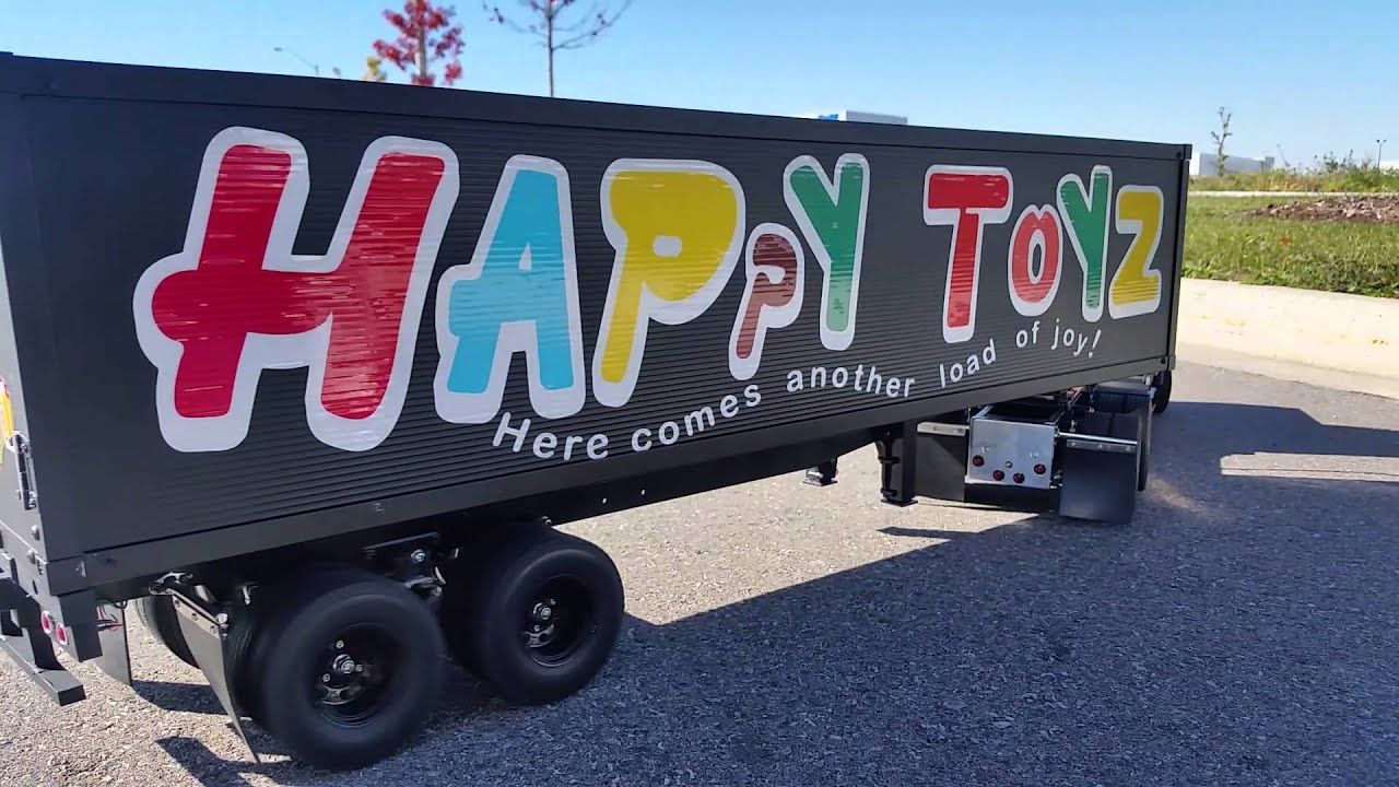"""""""Outlaw"""" pulling Happy Toyz Trailer - YouTube"""