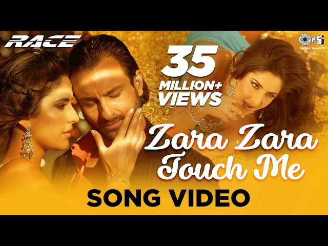 Zara Zara Touch Me Song Video | Race | Katrina Kaif & Saif Ali Khan | Monali Thakur, Earl Edgar