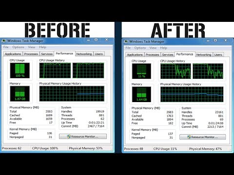 How To Fix 100 CPU Usage Windows 7