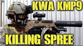 DesertFox Airsoft: KWA KMP9 Killing Spree (GamePod Combat Zone)