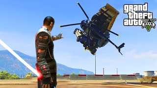GTA 5 PC Mods - ULTIMATE STAR WARS MODS w/ FORCE, LIGHTSABERS, VEHICLES, & MORE! (GTA 5 Mods)