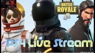 (Fortnite Battle Royale)PS4 Live Stream 160+ Wins/450 subs??
