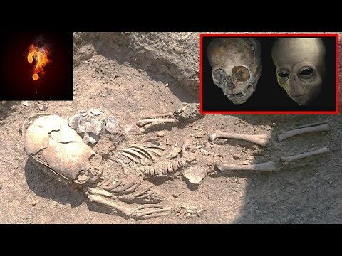 Tiny Alien Remains Found In Crimean Tomb?