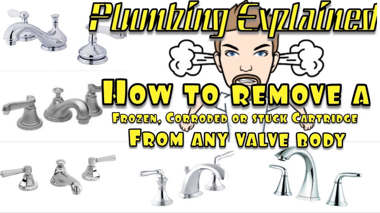 how to remove a stuck cartridge or stem from any brand faucet trade tips n tricks