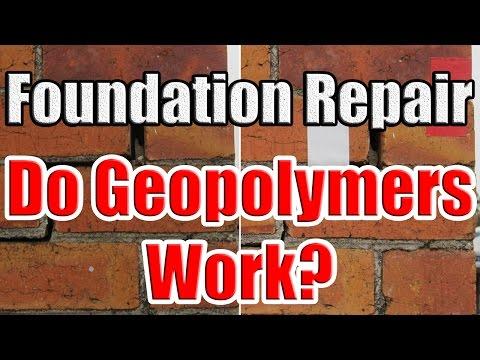 Foundation Repair Soil Ilization With Ureteks Deep Injection Eco Friendly Geopolymers
