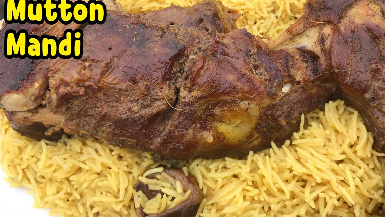 How To Make Mutton Mandi With Arabic Rice without oven/BBQ By Yasmin's  Cooking (Bakra Eid Special)