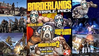 Borderlands Triple Pack Unboxing and Review