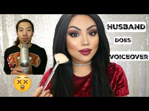 FUNNY Husband does my Voiceover !!!