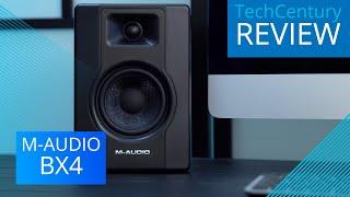 REVIEW: M-Audio BX4 Multimedia Monitors | TechCentury