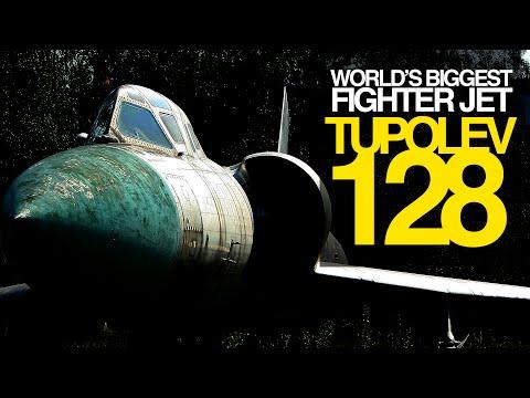 "Tupolev Tu-128P ""FIDDLER""   The GREATEST FIGHTER JET of all time!"